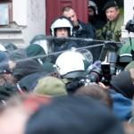 Pfefferspray-Einsatz durch die Polizei